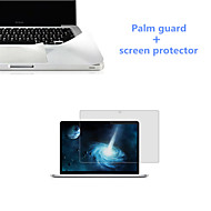 Ultrathin Silver Palm Guard and HD Screen Protector with Package for Macbook Pro 13.3 inch