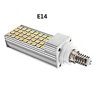 E14/G24 8 W 36 SMD 5050 600 LM Warm White/Cool White Dimmable Corn Bulbs AC 85-265 V
