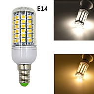 7W E14 LED a pannocchia 69 SMD 5050 1020 lm Bianco caldo / Bianco Decorativo AC 220-240 V 1 pezzo