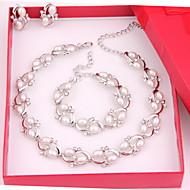 Sieraden set Dames Jublieum / Bruiloft / Verloving / Verjaardag / Geschenk / Feest / Dagelijks / Speciale gelegenheden Sieraden SetsLicht