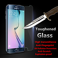 yi-yi ™ valós robbanásbiztos edzett üveg kijelző védő őr Samsung Galaxy S6 szélén