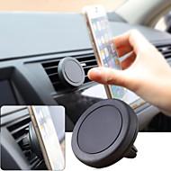 universel xwj 1503 magnetiske 360 «roterende mobiltelefon mount holder - sort