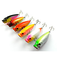"5 szt Popper Návnady Popper g/Uncja mm/3-1/4"" cal,Twardy plastik Sea Fishing Wędkarstwo słodkowodne Bass Fishing"