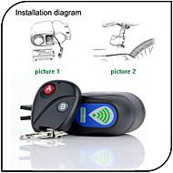 Locks Bicicleta ( Preta/Vermelho/Azul , ABS ) - alarme
