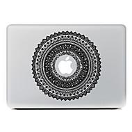 körkörös virág 2 dekoratív bőr matrica MacBook Air / pro / pro retina kijelző