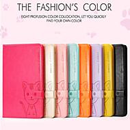 Hot//Domicat beautiful cartoon leather cover case  for Ipad Air