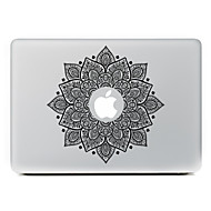 Black Flower Decorative Skin Sticker for MacBook Air/Pro/Pro with Retina Display