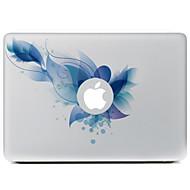 망막 디스플레이 / 프로 / 프로 맥북 에어 파란색 꽃 장식 피부 스티커