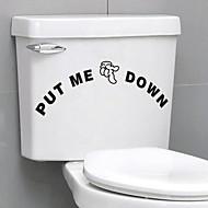Bathtub Appliques Toilet / Bathtub / Shower / Medicine Cabinets Plastik Çok-fonksiyonlu / Çevre Dostu / Karton / Hediye