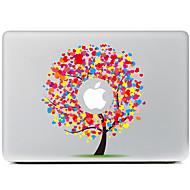 amour autocollant décoratif arbre pour MacBook Air / pro / pro avec affichage de la rétine