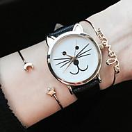 Kitty Watch Women Watches Cat Watch Wrist Watch Leather Watch Vintage Watch Jewelry Accessories