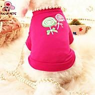 猫用品 / 犬用品 Tシャツ ローズピンク 犬用ウェア 夏 パール 結婚式 / コスプレ
