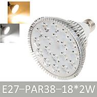 1 pcs Ding Yao E27 36W 18 Dip LED 1900-2020LM Warm White/Cool White A Spot Lights AC 85-265V