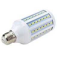 15W E26/E27 LED Spotlight / LED Globe Bulbs / LED Corn Lights T 72 SMD 5730 1300-1500 lm Cool White AC 220-240 V