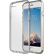 のために iPhone 6ケース / iPhone 6 Plusケース クリア ケース バックカバー ケース ソリッドカラー ソフト TPU iPhone 6s Plus/6 Plus / iPhone 6s/6