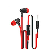 Langsdom JM21 High Quality 3.5mm Noise-Cancelling Mike In Ear Earphone for iPhone and Other Phones(Assorted Colors)