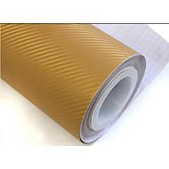 "lorcoo ™ simcarbon 3d hiilikuitu vinyyli kalvo wrap 12"" x 50"" arkki (vapaa lahja reuna vetolastan)"