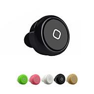 Mini bluetooth kuuloke langattomat kuulokkeet ja mikrofoni handfree urheilun korvaan alkuunsa mobiili samsung (valikoituja väri)