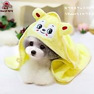 타월 물수건 애완동물 미용 용품 휴대용 코스프레 옐로우 그린 블루 핑크