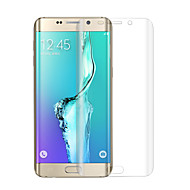angibabe 0,1 mm PET hot bøjning overflade membran til Samsung Galaxy s6 kant plus g9280 5,7 tommer