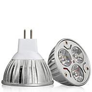 HRY Lâmpadas de Foco de LED Decorativa GU5.3(MR16) 9W 900 lm 3000K/6500K K Branco Quente / Branco Frio 3 LED de Alta Potência 1 pç DC 12 V