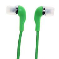 WHF-099 3,5 mm støjreducerende mike i øret øretelefon til iPhone og andre telefoner (assorterede farver)