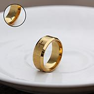 حلقات شخصية المجوهرات هدية ذهبية الكتاب المقدس الفولاذ المقاوم للصدأ محفورة