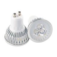 3W GU10 / GU5.3(MR16) / E26/E27 Spot LED MR16 3 LED Haute Puissance 350 lm Blanc Chaud / Blanc Froid Décorative AC 85-265 V 1 pièce