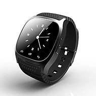m26 portátil reloj inteligente teléfono inteligente respuesta / llamada / música / sms / tiempo / reloj despertador deporte al aire libre