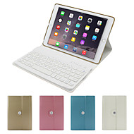 360 graders roterende bluetooth tastatur flyttbar sak for Apple ipad5 / ipad luft (assortert farge)
