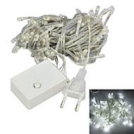 JIAWEN® 10 M 100 Dip LED Hvid Koblingsbar 4 W Lysslynger AC220 V