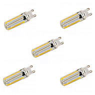 Ampoules Maïs LED Gradable Blanc Chaud / Blanc Naturel 无 5 pièces T E14 / G9 / G4 / E12 / E17 / E11 / BA15D 12W 152 SMD 3014 1200 LMAC