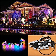 50PCS Christmas Colorful RGB Fairy LED String Party LED Twinkle Ball Tree Light