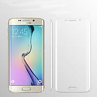 9h 0.1mm volledige dekking duidelijk hd premium explosieveilige screen protector flim voor Samsung Galaxy s6 rand plus