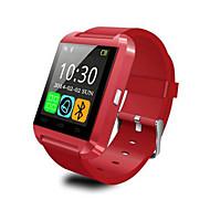 do bluetooth inteligente relógio relógio de pulso u8 u SmartWatch para samsung S4 / Nota 2/3 HTC lg Xiaomi smartphones Android Phone maçã