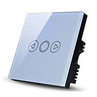 røre lysdæmper lyskontakt, EU-standard, glas panel væg touch skifte