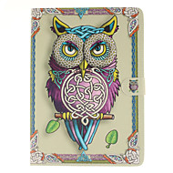 For Samsung Galaxy Case Card Holder / Wallet / with Stand / Flip / Pattern Case Full Body Case Owl PU Leather SamsungTab S2 9.7 / Tab S2