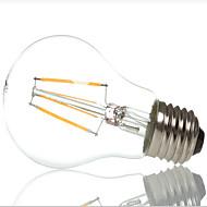 HRY® A60 4W E27 400LM 360 Degree Warm/Cool White Color Edison Filament Light LED Filament Lamp (AC220V)