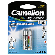 Camelion digi alcalina baterias de pilhas tamanho AAA (2pcs)