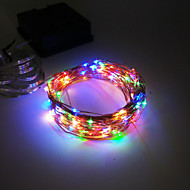 King Ro New Fashion 12M 100LED Solar Copper Wire Light Christmas Waterproof Party Light
