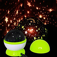 YOBO USB Starry Sky LED Projection Lamp Night Light (Random Colors)