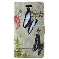 Butterfly PU Leather Full Body Case with Stand For Samsung Galaxy S3/S4/S3MINI/S4MINI/S5/S5MINI/S6 edge/S6