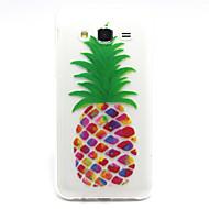 Mert Samsung Galaxy tok Minta Case Hátlap Case Gyümölcs TPU Samsung J5