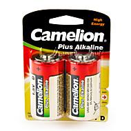 Camelion Plus Alkaline Primary Batteries Size D (2pcs)