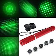 Salamavalon muotoinen - Alumiiniseos - Vihreä laserosoitin