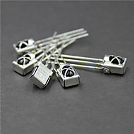 Universal Infrared Receiver with Metal Shell - Silver (5 PCS)