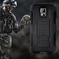 DE JI TPU+PC 3 in 1 Armor Heavy Duty Rugged Impact Belt Clip Case Cover For Samsung Galaxy S6 Edge Plus/S6 Edge/S6/S5/S4