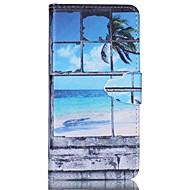 Na Samsung Galaxy Etui Etui na karty / Z podpórką / Flip / Wzór / Magnetyczne Kılıf Futerał Kılıf Krajobraz Skóra PU Samsung A5 / A3