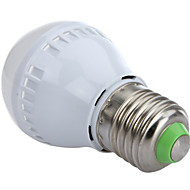 3W E26/E27 LED-bollampen A60(A19) 10 SMD 2835 250 lm Warm wit / Koel wit Decoratief AC 220-240 V 1 stuks