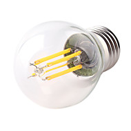 HRY® G45 4W E27 400LM 360 Degree Warm/Cool White Color Edison Filament Light LED Filament Lamp (AC220V)
